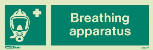 Jalite Breathing Apparatus Sign (4379)